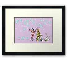Mister Baron and his Magus Bird Magic Whistle Framed Print
