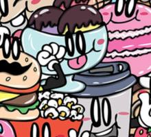 We Love Food! Sticker