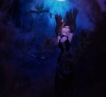 Mystic Night and Witch 4 by AnnArtshock