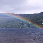 Loch Tay Rainbow by PigleT