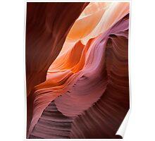 Waves at Antelope Canyon, Arizona  Poster