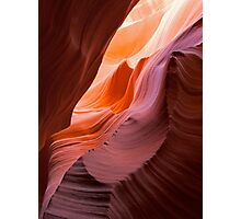 Waves at Antelope Canyon, Arizona  Photographic Print