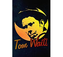 Tom Waits   Photographic Print