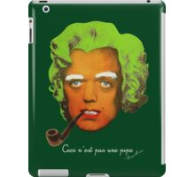 Oompa Loompa Self Portrait With Surreal Pipe iPad Case/Skin