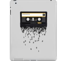 The death of the cassette tape. iPad Case/Skin