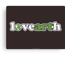 lovearth *green Canvas Print