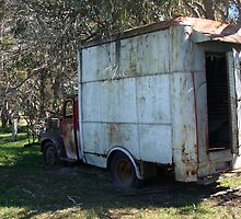 The Old Meat Truck by Jason Adams