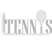Tennis Canvas Print