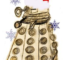 Dalek Christmas by Bang-Bang-Oh