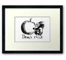 Death Note - Ryuk Framed Print