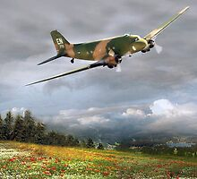 Skytrain C-47 by Bob Martin