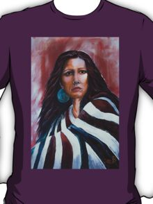 """""""Wrapped In Tradition, Naomi"""" T-Shirt"""