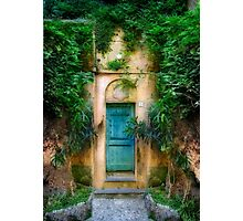 Tuscany doorway Photographic Print
