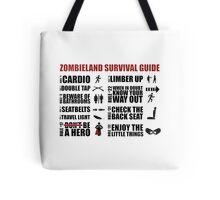 Zombieland Survival Guide Tote Bag