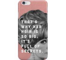 Full of Secrets iPhone Case/Skin