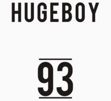 HUGEBOY 93 (MINO) HIP HOP T-SHIRT white by afterdark88