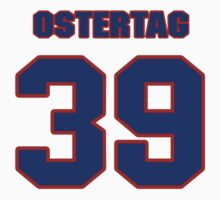 Basketball player Greg Ostertag jersey 39 by imsport