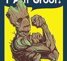 I am Groot! by KindaCreative
