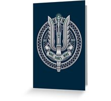 Whovian Dares Greeting Card