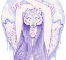 Wolfmoon by Andrea Hrnjak
