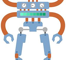 4 Armed Robot by pounddesigns