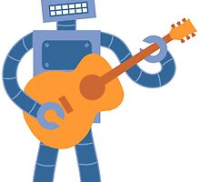 Guitar Robot by pounddesigns