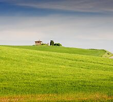 Tuscany countryside by SpikeFlutie
