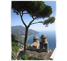 View from Ravello Poster