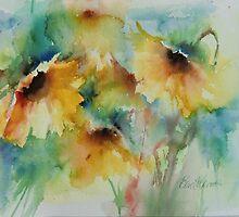 solsikke  fiori by Elsa Wendt