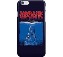 Jawrassic World (jurassic world/Jaws) iPhone Case/Skin