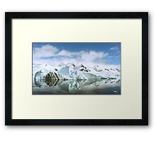 Antarctic Reflections Framed Print