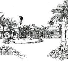The Sanctuary Club, Sanibel, Florida by Deborah Chapman