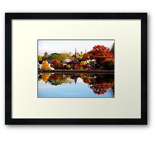 Trent River Framed Print