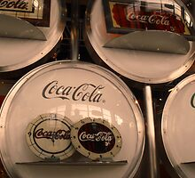 Coca-Cola Vintage Clocks in Japan by jazo