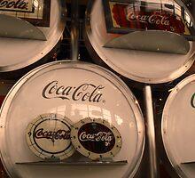 Coca-Cola Vintage Clocks in Japan by jazo