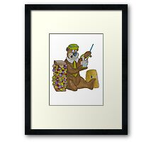 Larger Than the Average Dab Framed Print