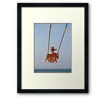 Carefree Summer Framed Print