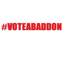 #VOTEABADDON by EsperSayaka