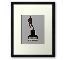 MVP Trophy / Smile Design 2014 Framed Print