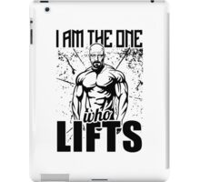 Breaking Bad I Am The One Who Lifts iPad Case/Skin