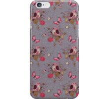 Bird Butterfly Floral Pattern. iPhone Case/Skin