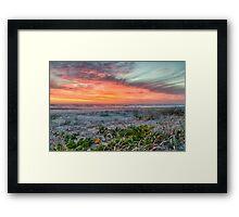 Dawn at Tallow's Framed Print