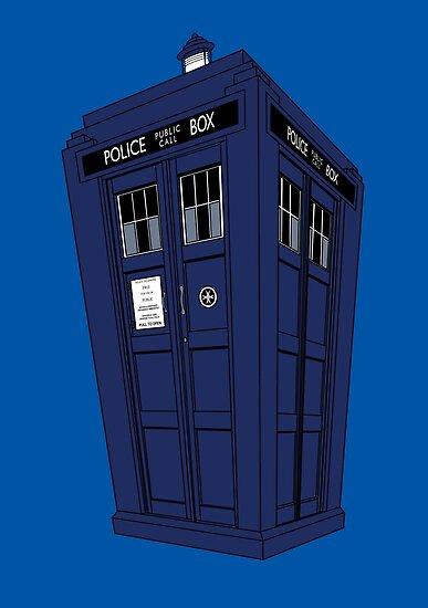 Police Box by Stephanie Jayne Whitcomb