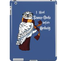 Harry Potter Inspired Hipster Owl iPad Case/Skin