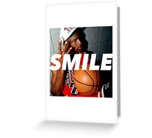 MJ Rings / Smile Design 2014 Greeting Card