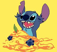 Stitch Sandcastle  by MissBMuffin