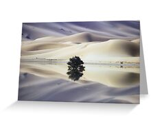 Blue Dunes Greeting Card