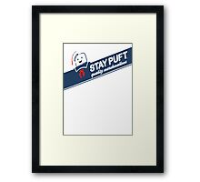 Stay Puft Marshmallow T-shirt Framed Print