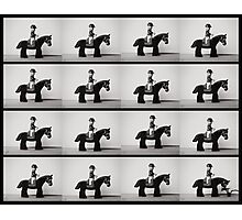 Horse In Motion Photographic Print