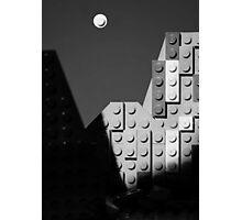 Moon and Half Dome Photographic Print